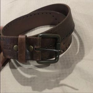 Genuine Levi's leather belt